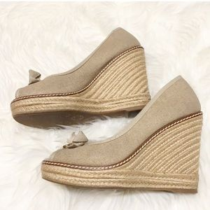 Tory Burch Wedge Espadrilles